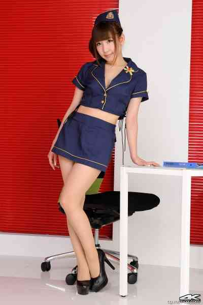 4K-STAR No.00028 Chihiro Akiha 秋葉ちひろ Mini Skirt Police