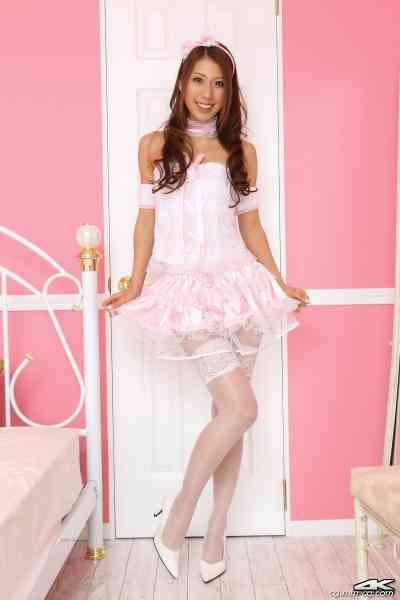 4K-STAR No.00042 Reika Miki 三樹レイカ Pink Dress