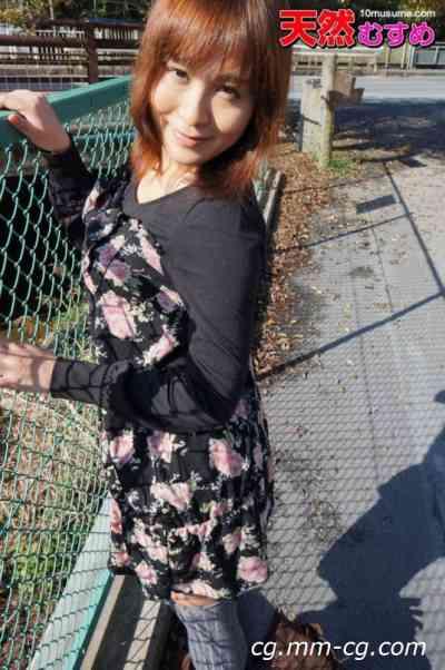 10musume 2012.02.28 美巨乳素人色情的兜風約會 住友