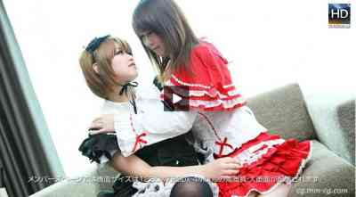 1000giri 2012-03-26 Megumi & Tomomi レズフェティシズム~レズ+3P+ゴスロリ