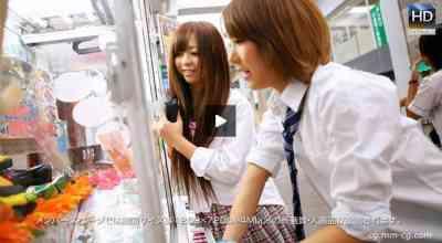 1000giri 2012-04-30 Yuria & Riona レズフェティシズム~街角デート~リオナ &ユリア