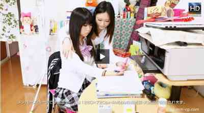 1000giri 2012-06-01 Aina & Momo 家庭教師レズ~ロリッ気のある教え子にいたずらしちゃった