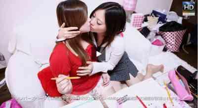 1000giri 2012-06-04 Aina & Hikari 家庭教師レズ~ロリ巨乳の女の子にいたずらしちゃった~