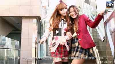 1000giri 2012-11-30 Mina & Kaede プリンセスなお年頃~姫キャラの夜の営み~レズフェティシズム-ミイナ &カエデ