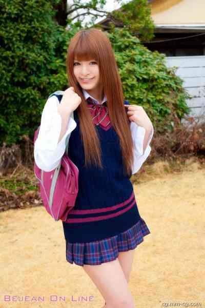 Bejean On Line 2010-04 [Jogaku]- Megumi Haruna