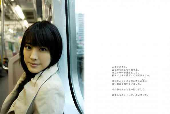 image.tv 2007.07.27 - Saki Fukuda 福田沙紀 - TOKYO Days