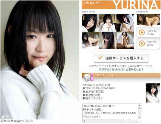 S-Cute _7th_No.13YURINA