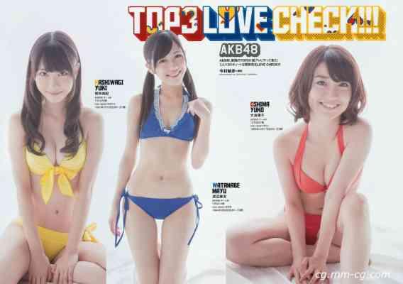 Weekly Playboy 2012 No.36 AKB48 梨里杏 岡田紗佳 長野美郷 高見侑里 小嶋陽菜 彩夢 他