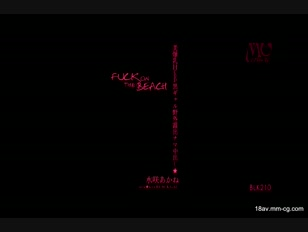 BLK-210-[中文] 水咲茜 kira★kira BLACK GAL 美爆乳H罩杯黑辣妹野外裸露無套插入中出★FUCK ON THE BEACH
