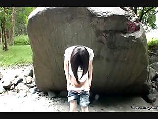 IBW-4832-[中文]少女的道草 被荒癈的鄉下村落內進行少女野外猥褻紀錄