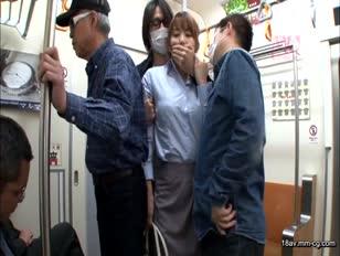 VEC-120-[中文]人妻教師癡漢電車 波多野結衣