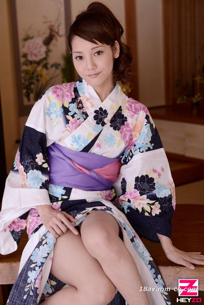 Latest heyzo.com 0310 Yukata Pure Japanese-style Pretty Girl Creampie