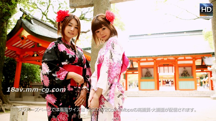 The latest 1000 people 斩130809risa open yukata, flying and promoting