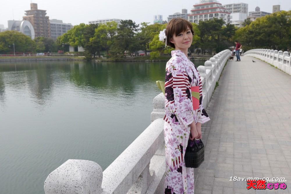 Latest natural amateur 070514_01 beauty yukata figure Hayakawa
