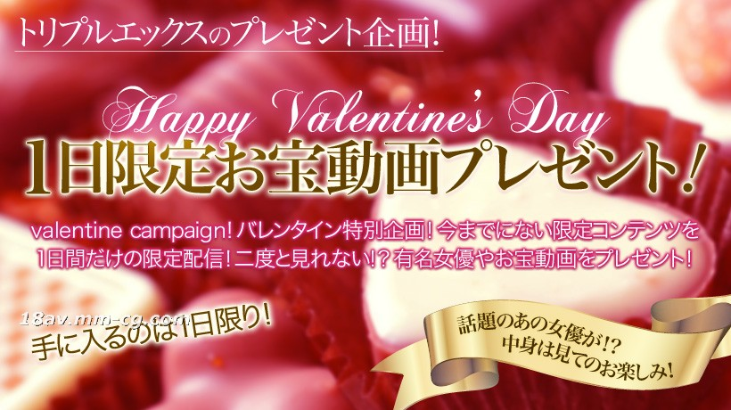 The latest 150228xxx-av.21886- Valentine's Day gift! 1 day limited special animation vol.28
