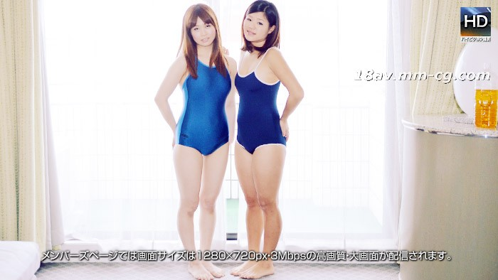 The latest 1000 people 斩 150413 swimsuit lesbian bed 3P blue