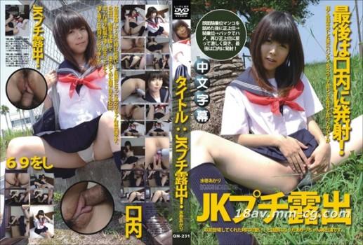 無碼中文QN-231 標題 JK小型曝光