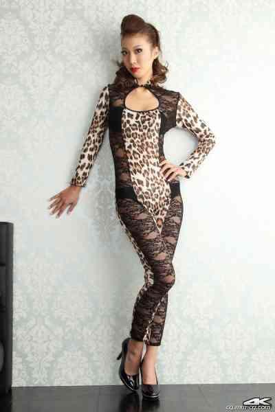 4K-STAR No.00025 Reika Miki 三樹レイカ Leopard Costume