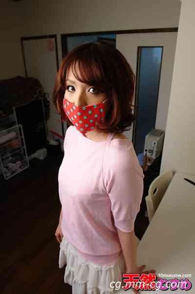 10musume 2012.11.16 蒙上面具的女孩房间拜读 黒川
