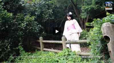 1000giri 2012-11-05 Yuri 完全素人AV DEBUT 3nd~浴衣の似合うロリ美少女にベランダで中出し