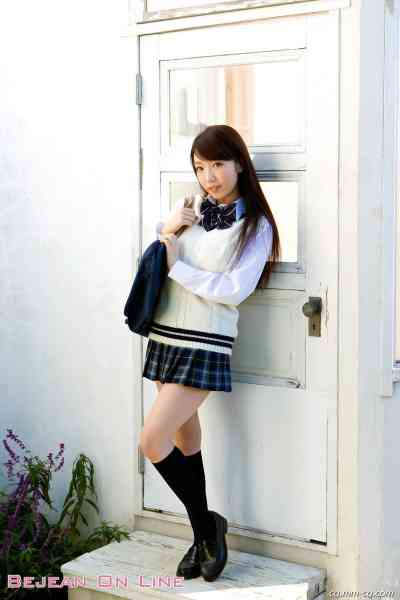 Bejean On Line 2012.03 私立Bejean女学館 平山藍里 Airi Hirayama