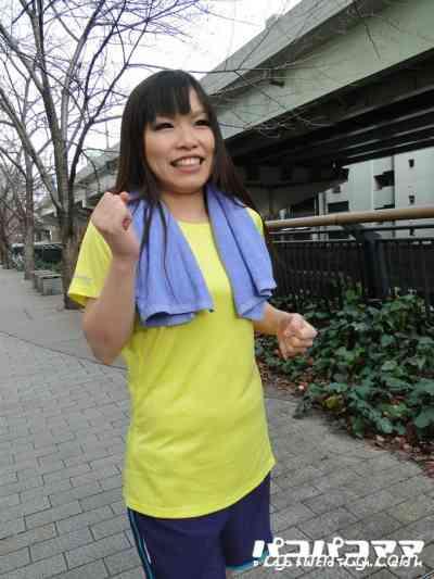 Pacopacomama 030812-599 ジョギングミセス ~巨乳ランナー~あすか