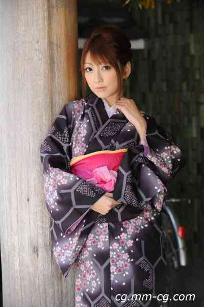 X-City KIMONO  004 Kaede Matsushima 松島かえで